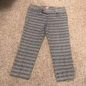 Ankle length lightweight pants